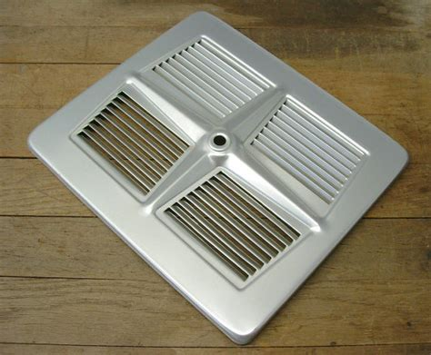 bathroom fan vent cover vintage retro aluminum exhaust fan grill vent cover repurpose