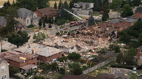 House Explosion by One Dead In Mississauga House Explosion News Talk 980 Cknw Vancouver S News