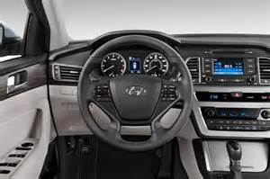 Hyundai Sonata Inside 2015 Hyundai Sonata Steering Wheel Interior Photo