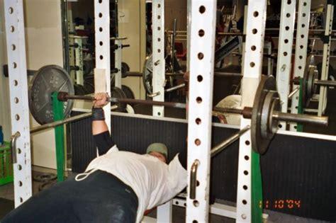 bench press lockouts training photos