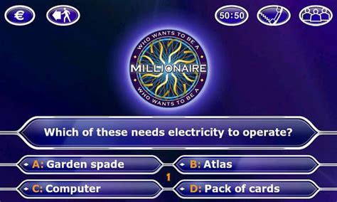 do you want to be a millionaire template no se ha encontrado nada android market
