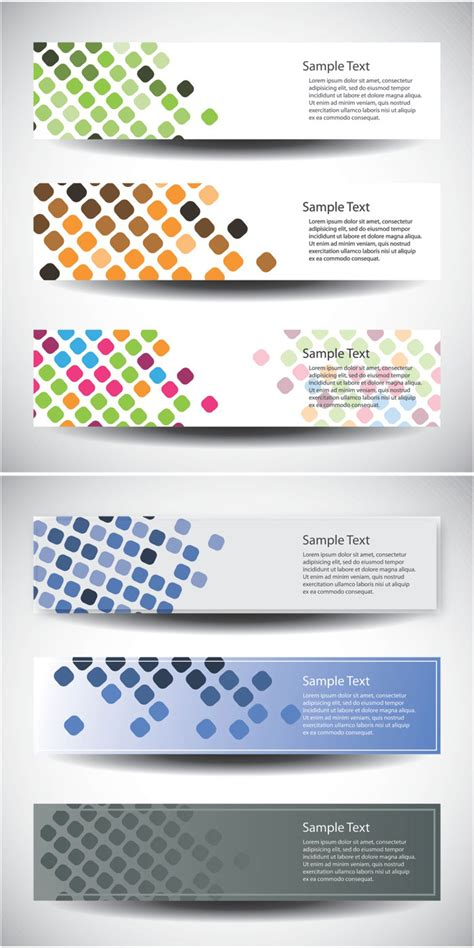 vertical banner templates vector vector graphics blog