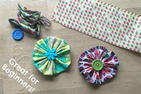 fabric crafts easy flower craft ideas wonderful summer s