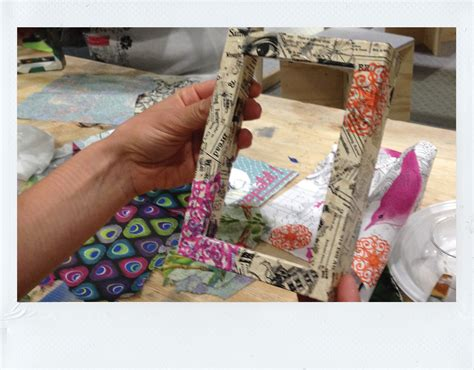 Decoupage Photo Frame Ideas - decoupage picture frame gallery craft decoration ideas