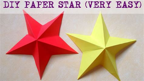 Easy Paper Crafts For At Home - diy paper crafts how to make a paper 3d in less than