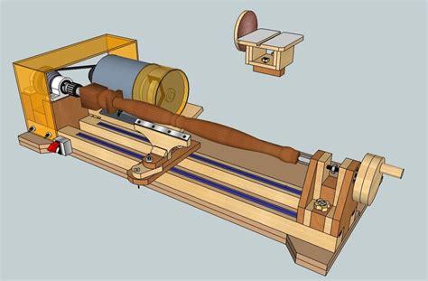 Wood Lathe Bench Plans