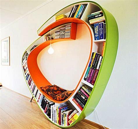 desain gambar lemari buku furniture rumah