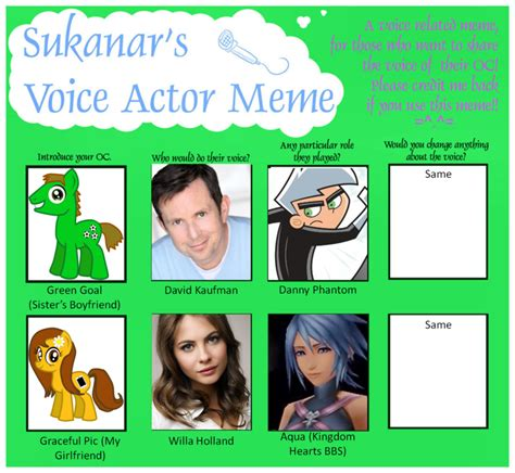 Meme Voice - mlp voice actor meme my version 2 by shadymeadow on