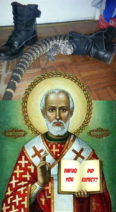 St Nicholas Meme - get your boots ready for st nicholas by fraterbbobbo