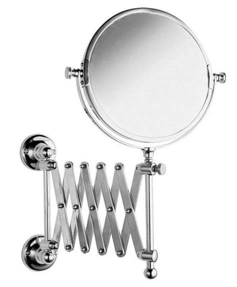 telescoping mirror for bathroom chrome extendable bathroom mirrors designer extendable