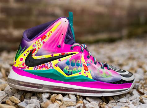 newest lebron shoes nike lebron 10 quot what the 60s quot by district customs