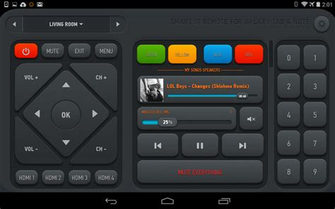 universal remote app android smart ir remote anymote android apps on play