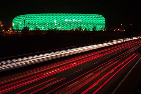 Led Arena Lights by Bayern Munich Stadium Catches The Led Light