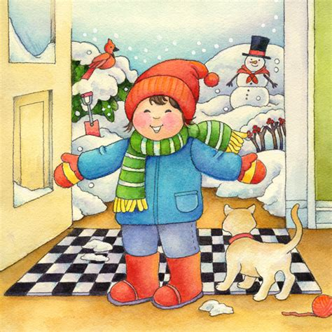 imagenes infantiles invierno estaciones del a 241 o fichas para trabajar el invierno