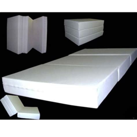 trifold foam bed folding mattress 6 in thick twin size trifold foam beds