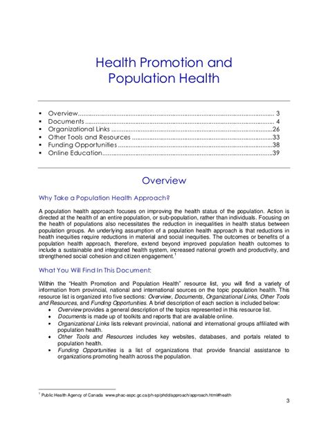 cover letter health promotion