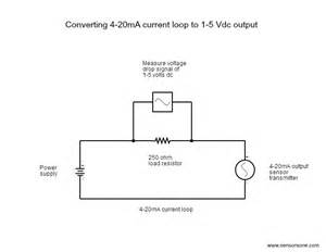 4 to 20 ma current loop output signal sensorsone