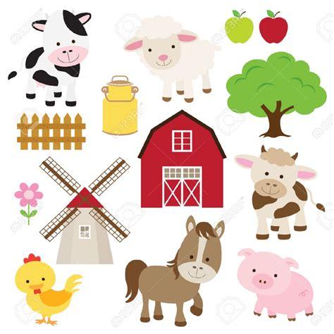 imagenes vectores infantiles granja caricatura im繝筍genes de archivo vectores granja