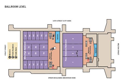 denver convention center floor plan denver convention center floor plans gurus floor