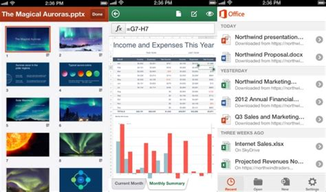 microsoft office 365 for android microsoft office comes to iphone for office 365 subscribers android s wait continues