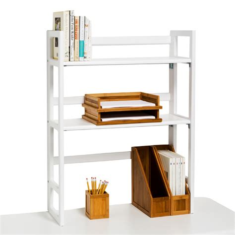 college desk hutch white solid wood folding hutch the container store