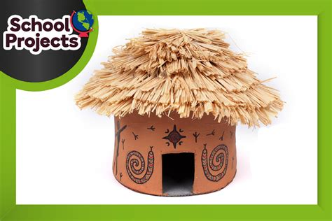Christmas Home Decor by How To Make An African Hut Model Hobbycraft Blog
