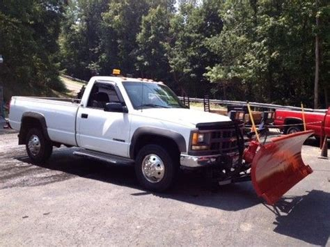 buy used 1996 chevy 2500 hd w western snow plow in steubenville ohio united states for us