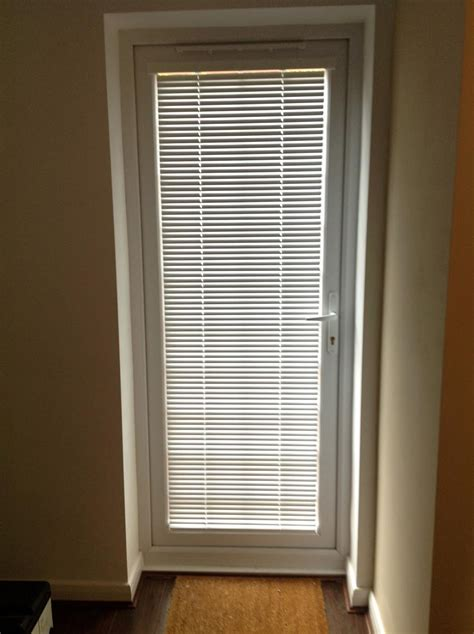 Blinds For Doors With Windows Ideas Blinds For Door Window Window Treatments Design Ideas