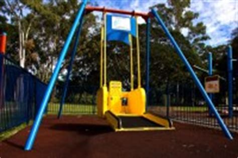 liberty swing city of gold coast parks information for people with a