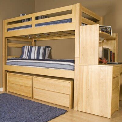woodwork extra long twin bunk beds  plans
