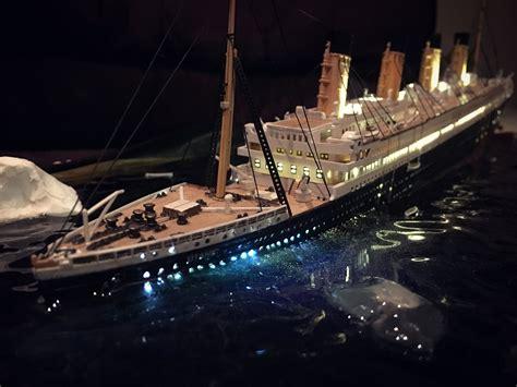 titanic rc boat sinking titanic model sinking www pixshark images