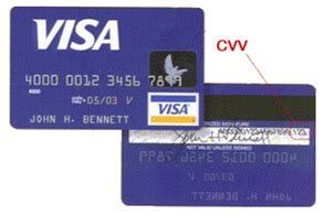 What Is A Cvv Code On A Visa Gift Card - cvv credit card s code