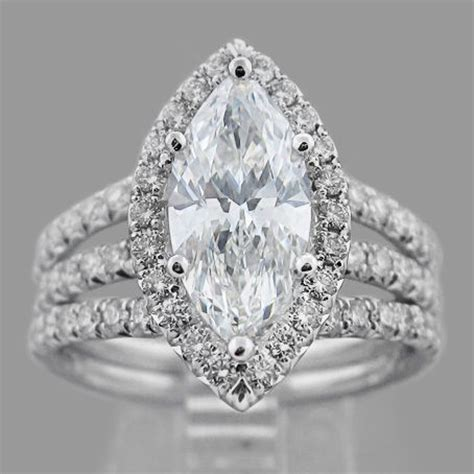 marquise rings wedding promise