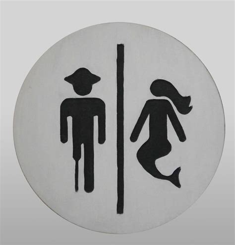 styles cool  funny restroom signs design