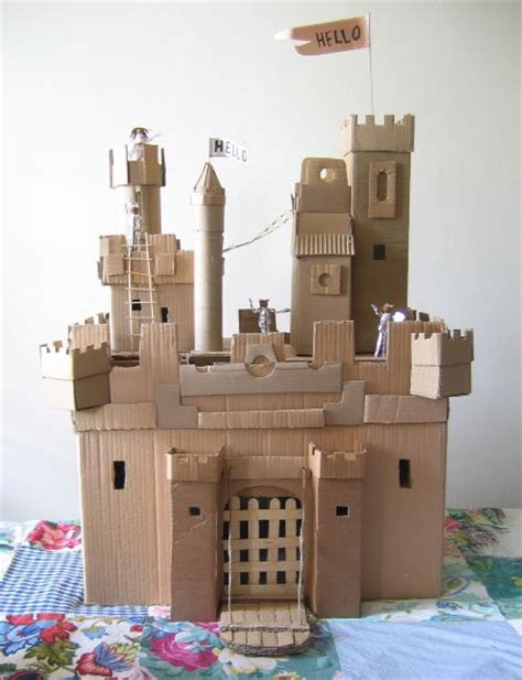 How To Make A Paper Castle - zen seeker s mini castle page
