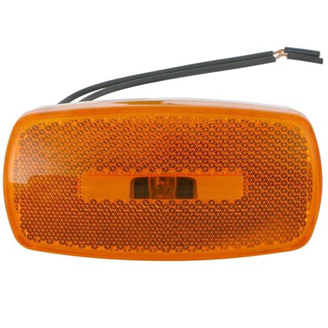 4 Quot X2 Quot Rectangle Clearance Light Amber Www Light Clearance Sales