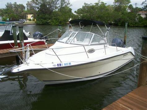 century boats walkaround used century 2200 walkaround boats for sale boats