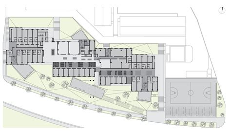 youth center floor plans youth community center meta project archdaily