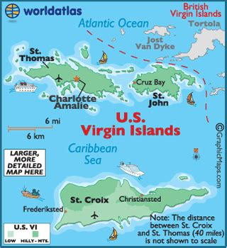 map of st islands us islands map geography of us islands