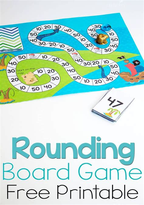 printable board games for sunday school free printable pirate board game rounding to tens free