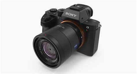 sony frame mirrorless frame mirrorless sony 3d model turbosquid 1151754