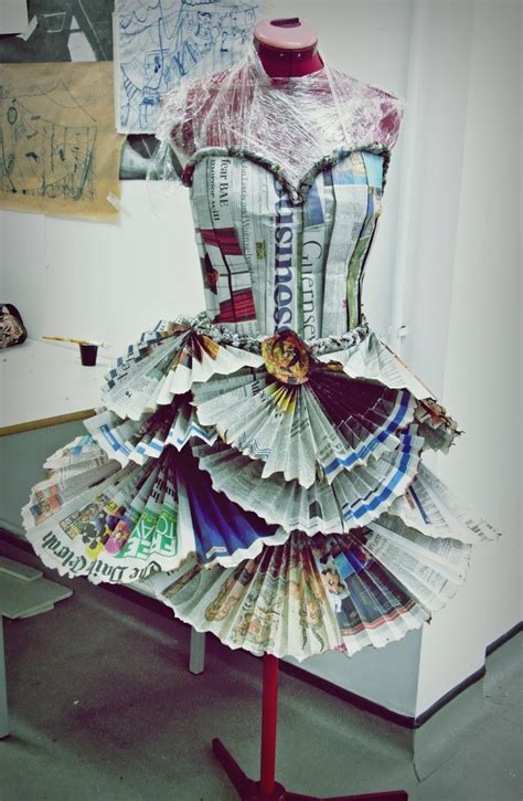 How To Make A Dress Out Of Paper - my clean canvas