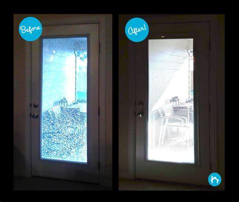 Fogged Glass Door Door Transformations Replacing Glass Zabitat