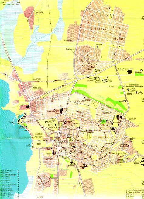 burundi map bujumbura city map mappery