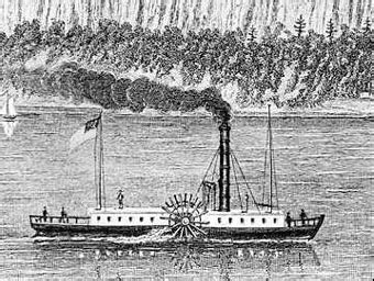 first steam boat how steamboats developed fulton s background