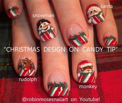 christmas robin nails 78 ideas about monkey nails on nails animal nail designs and nail