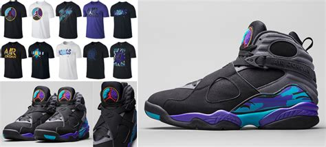 air jordan  retro aqua  shirts sneakerfitscom