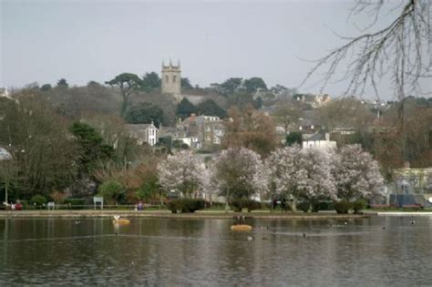 helston cornwall tourist guide map  accommodation businesses history