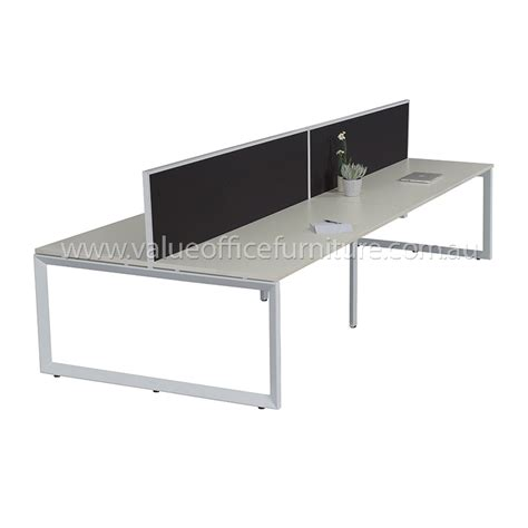 Modular Desks Office Furniture Modular Loop 8 Way Desk Pod Value Office Furniture