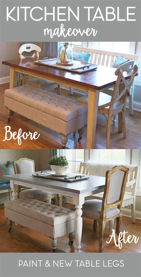 Redo Kitchen Table And Chairs by 25 Best Ideas About Dining Table Makeover On